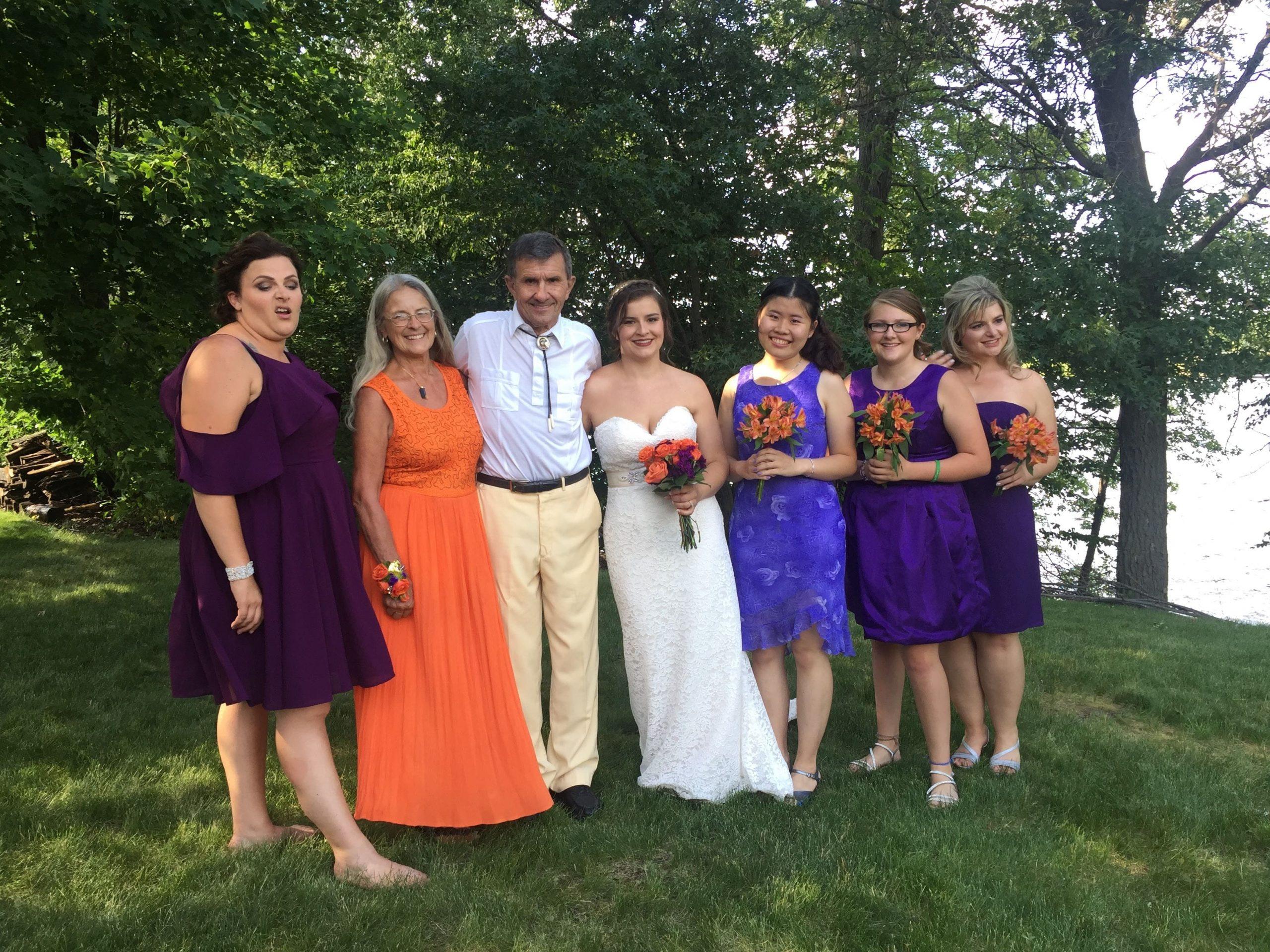 Meaningful memories with Edie groom